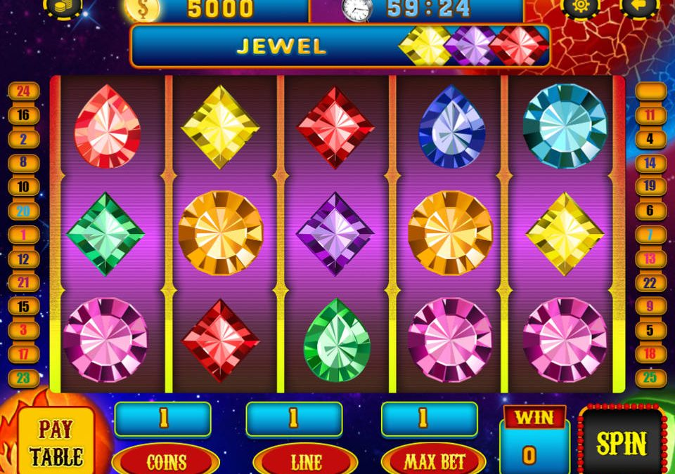 Collect The Real Gems From Jack In The Box Slot